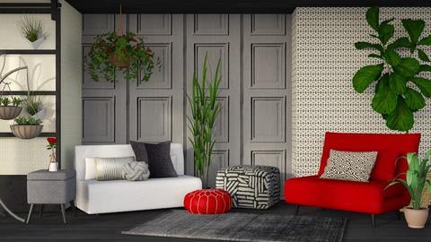 Modern Sitting Room - Modern - Living room - by millerfam
