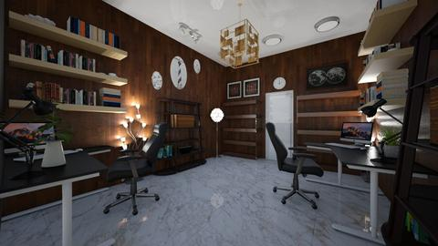 office room with partner - Office - by Mona Noryo