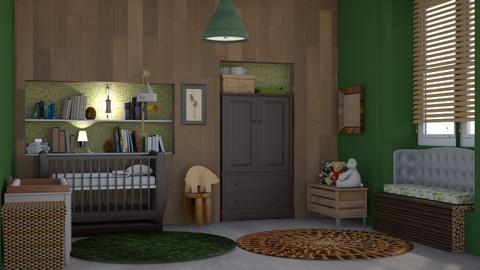 Baby bear - Kids room - by augustmoon