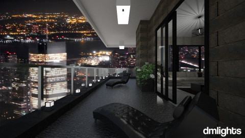 LinvingBalcony - Living room - by DMLights-user-1063855