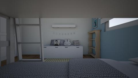 I and J bunk 13 - Kids room - by erlichroni