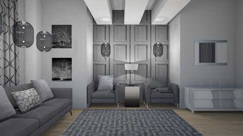 Grey or Gray  - Modern - Living room - by XiraFizade