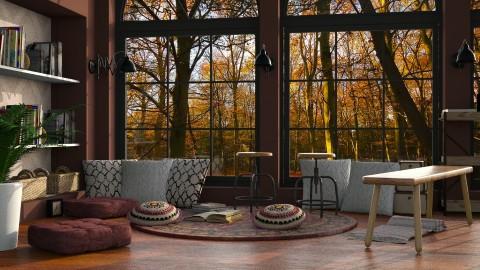 Auburns2 - Rustic - Living room - by Tim Bean