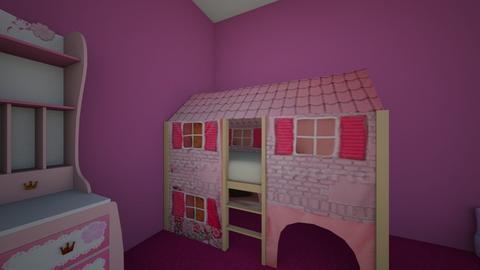 girls kids bedroom - Kids room - by girltalk1215