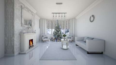 Christmas Time  - Modern - Living room - by creato