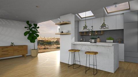 White  - Modern - Kitchen - by tolo13lolo