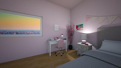 Pink Bedroom - by avanren
