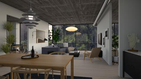 Tom Seymour - Living room - by dwark