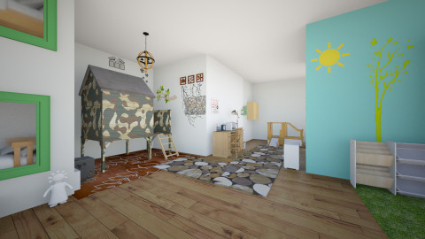 bedroom of nature - Country - Bedroom - by fiocchetta
