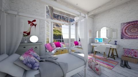 teenager room - Bedroom - by rasty