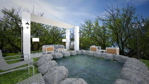 pool 1 - Garden - by guyciara87