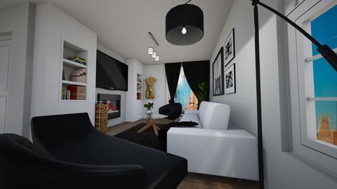house - Living room - by saska24