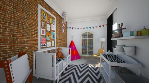 my eclectic baby room - Kids room - by Dibiduu
