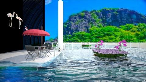 Sea View - Garden - by Taxi girl
