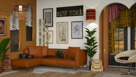 City Relaxation - Modern - Living room - by Jessica Fox