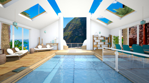 Mountain Retreat - Minimal - by Nicky West