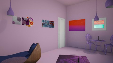 lila - Rustic - Living room - by kikazsu