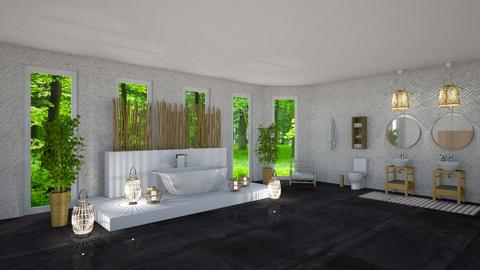 Bamboo Dreams - Modern - Bathroom - by jammuek