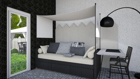 Study Bed - Modern - Bedroom - by XiraFizade