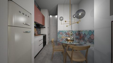 Casa312KitchenAndDining - Feminine - Dining room - by nickynunes