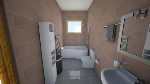 Masters Bath - Minimal - Bathroom - by yendreamhouse