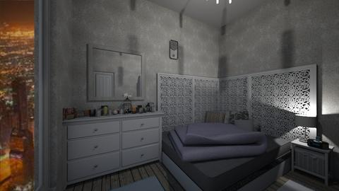 DA NY - Bedroom - by 987123maria
