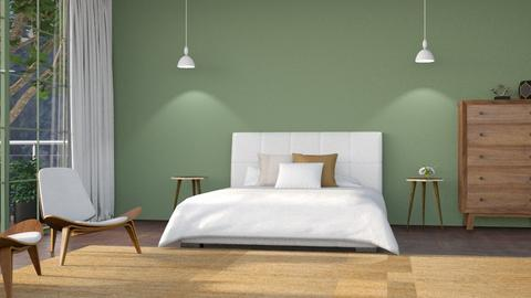 Mid century bedroom - by its_eima