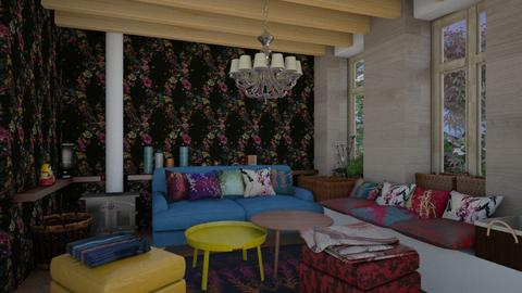 gipsy style 2a - Living room - by macus