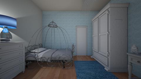 disney princess room - Bedroom - by shelleycaitlin