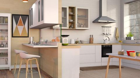 Mid Century Kitchen - Modern - Kitchen - by Sally Simpson