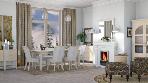M_ Mansion - Living room - by milyca8