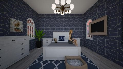 casual room - Modern - Bedroom - by idontcareaboutaname