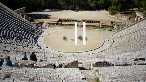 ANCIENT THEATER OF GREECE - by matina1976