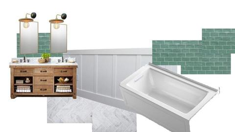 Ziegler bathroom2 - by littlewillowhome