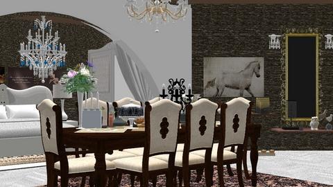living room 1 - Modern - Living room - by nat mi