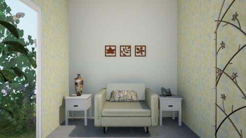 Hallway to The Garden - Rustic - Garden - by lottiealice
