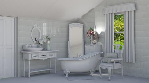 Shabby Chic Bathroom - Bathroom - by creato