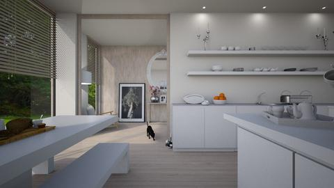 scandi kitchen - Minimal - Kitchen - by donella