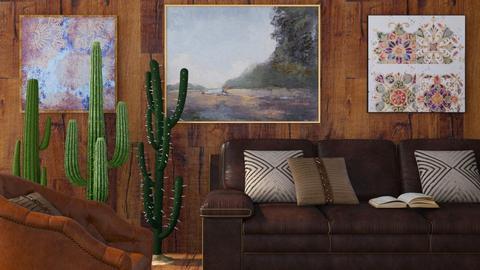 Cactus - Country - Living room - by millerfam