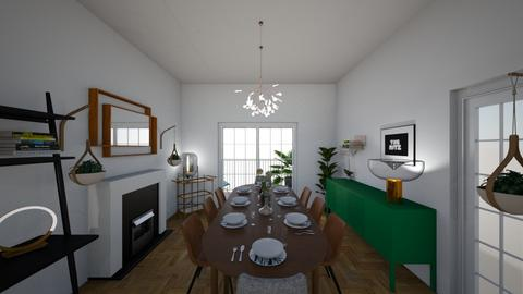 New Cross Road - Dining room - by rachelbbridge