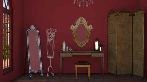 Venetian Dressing Room - by pechaberry