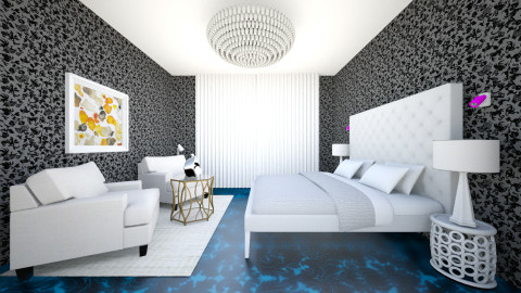 bedroom - by nida