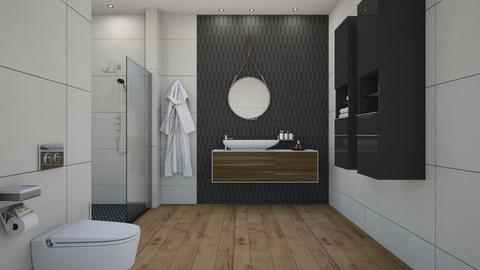 bathroom - Bathroom - by rickglassinteriors