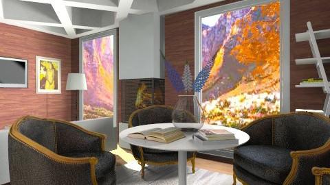 Aero Filipino  - Rustic - Living room - by Nhezi