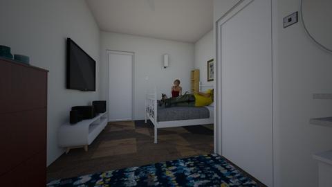 Bedroom 1 - Minimal - Bedroom - by Hasna Ahmed