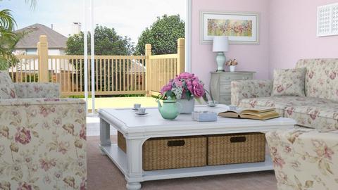 Shabby Chic Livingroom - Living room - by Tzed Design