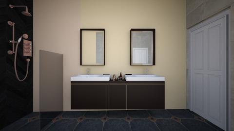 begane grond - Bathroom - by vanginneken