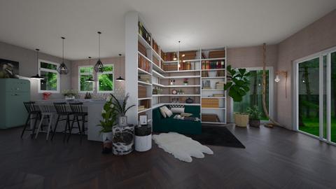 booknook - Living room - by TRMVM