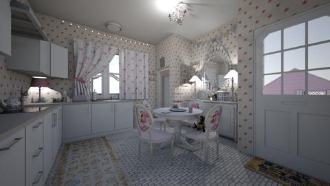 shabby - Kitchen - by hillygabe
