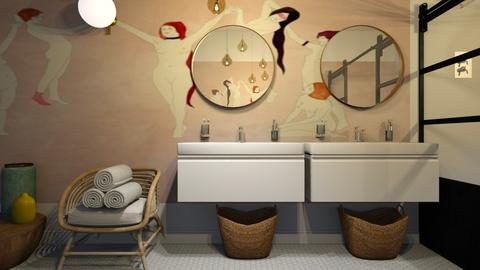 maison c design - Bathroom - by Ripley86